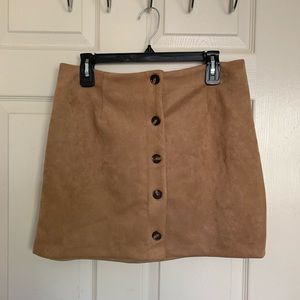 WildFable Brown skirt